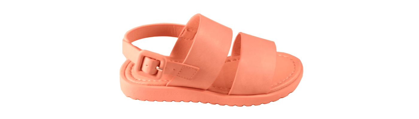 Girls tan sandal